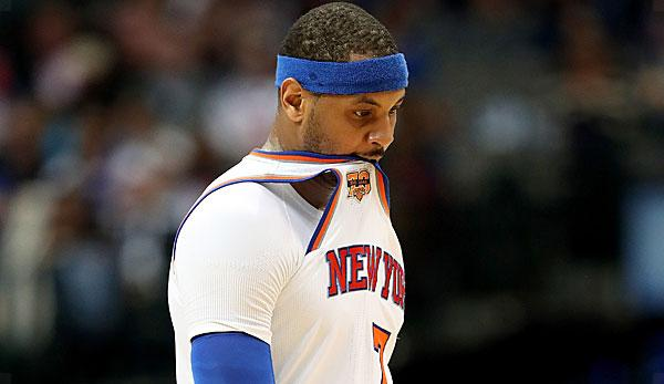 NBA: Media: Melo believes in trade until Monday