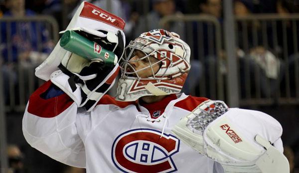 NHL: Montréals Price now top earner among NHL goalkeepers