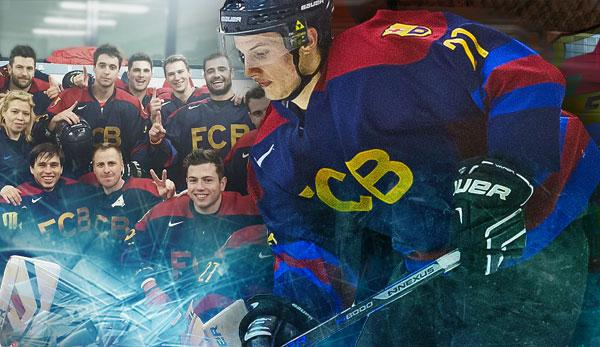 Ice hockey: Barca's ice hockey team: exotic people in the shade of Camp Nou