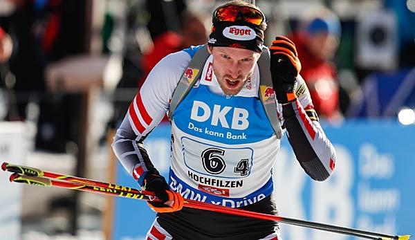 Winter Sports: Biathlon: Austrian Landertinger is operated on the lumbar spine