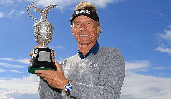 Golf: -Pioneer Langer on the 60th anniversary.
