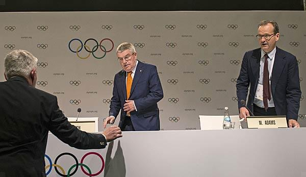 Olympia: After another launch of missiles: IOC remains in position