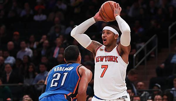 NBA: New York Knicks trades Carmelo Anthony to Oklahoma City Thunder