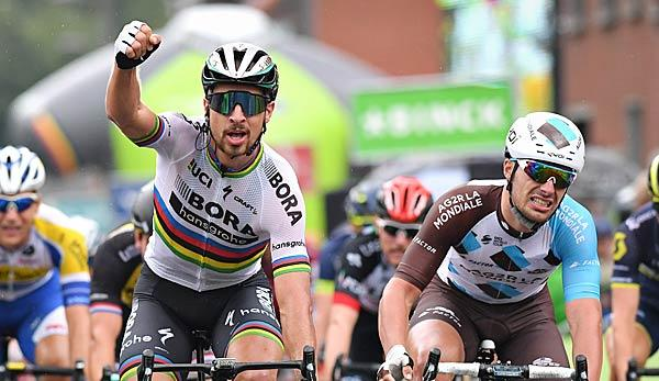 Cycling: WM: Sagan wins title hat-trick - Kristoff takes second place