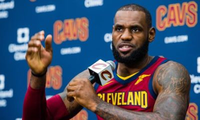 NBA: Media Day: LeBron talks about Trump, Irving and Wade