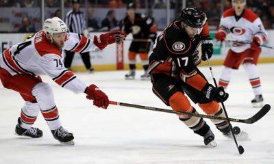 NHL: Where can I watch Anaheim Ducks - Carolina Hurricanes live