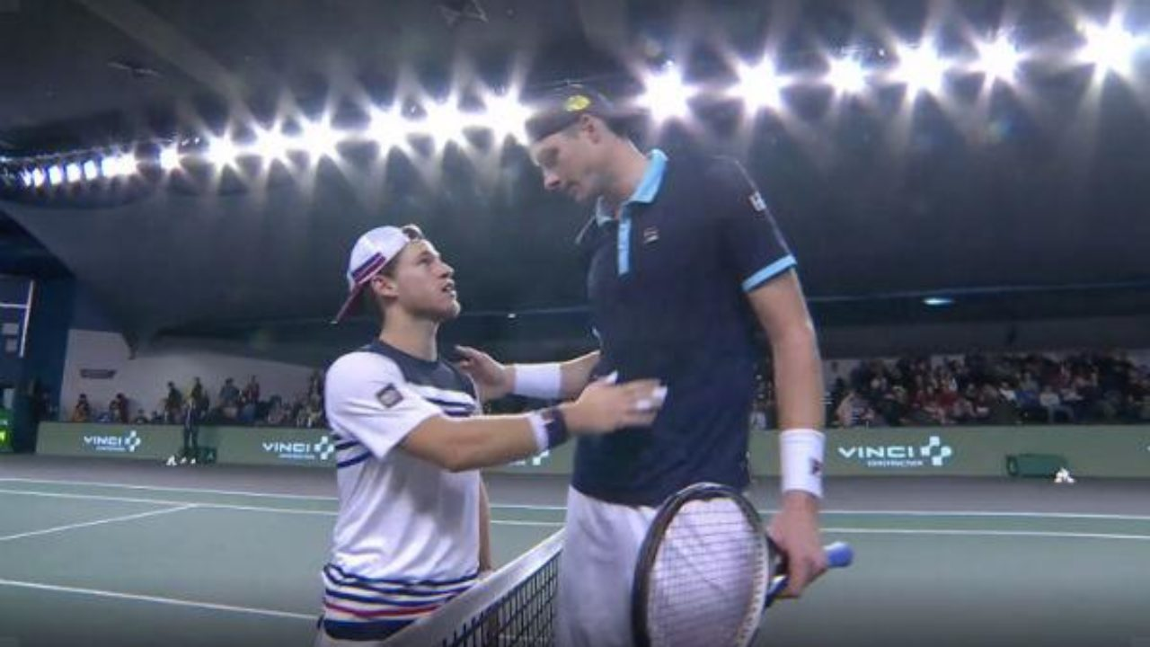 ATP: Despite defeat: Little Schwartzman outfits Isner   World Sport News