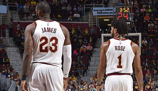 "LeBron:""We want D-Rose to be happy."""
