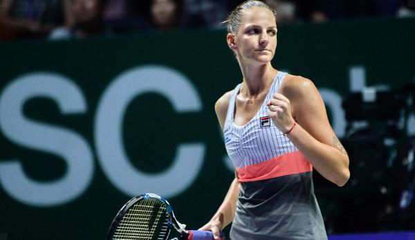 """WTA: Pliskova gives himself time:""""Have a game that doesn't cost that much power""""."""