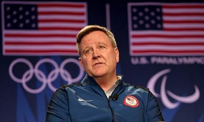 Olympic Games: US Olympic boss Blackmun steps down