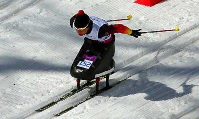 Olympic Games: Paralympics: Eskau wears German flag