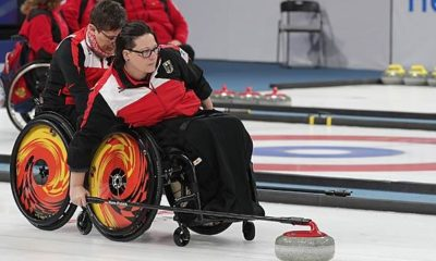 Olympia 2018: Paralymics: Wheelchair curler wins at the start