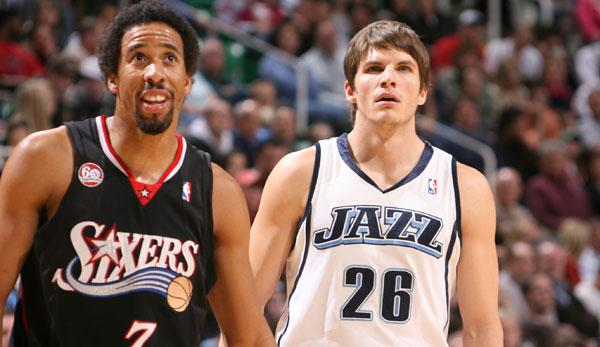 NBA: Andre Miller in the interview: