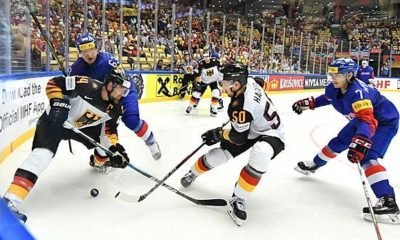 Ice Hockey: Germany v Latvia live on TV and live stream today