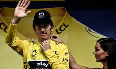 Tour de France: Tour victory practically certain: Thomas travels in yellow to Paris