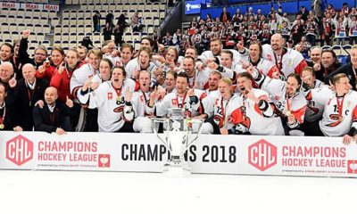 Ice Hockey: All information about the Champions Hockey League 2018