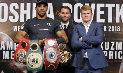 "Boxing: Joshua about Povetkin: ""Toughest opponent since Klitschko"""