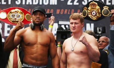 Boxing: Joshua vs. Povetkin - tonight in the live stream on DAZN!