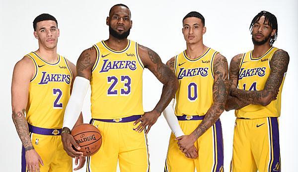 NBA: Lakers Offseason: The King's New Rattle Gang   World Sport News