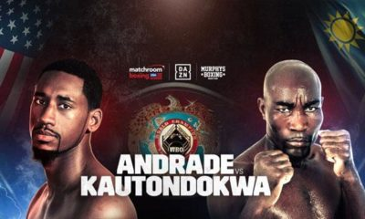 Boxing: Andrade against Kautondokwa in livestream