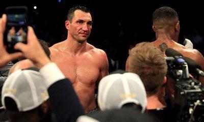 "Boxing: Klitschko comeback? ""Still got it."""