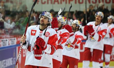 Ice hockey: Salzburg in CHL quarter finals