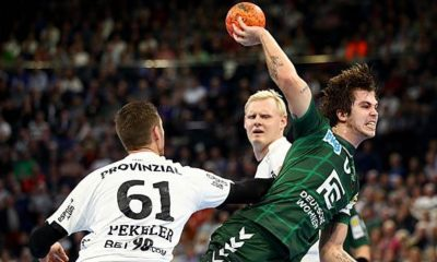 Handball: Flensburg wins again - THW beats Berlin
