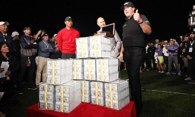 Golf: Golf star clears nine million dollars