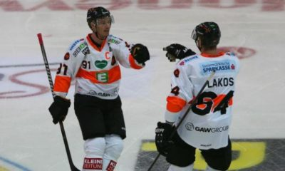 Ice Hockey Austria: 99's after cantonal victory EBEL-Half-time leader