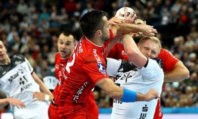 Handball: DHB Cup: Pavlovic 20 minutes treated on field