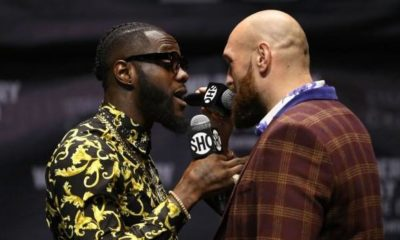 Boxing: Tyson Fury vs. Deontay Wilder: Press conference ends with fisticuffs