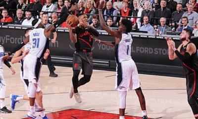 NBA: Seven Lillard threesomes in a quarter - Russ swallows Kidd