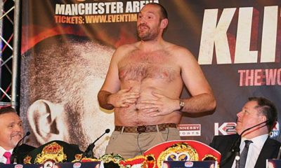 Boxing: scandalous file Tyson Fury: cocaine, pig fat and pure madness