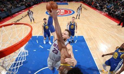 NBA: Despite Curry-Comeback: Warriors patzen also in Detroit!