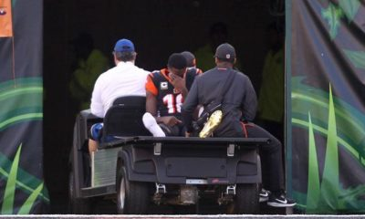 NFL: A.J. Green injured at comeback - probably out of season