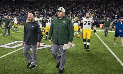 NFL: Beat of the drum! Packers sack McCarthy