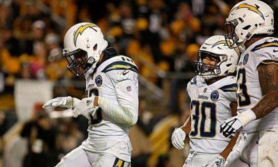 NFL: Crazy Chargers comeback shocks Steelers - Conner injured
