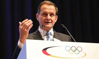 Olympics: Hörmann re-elected as DOSB President