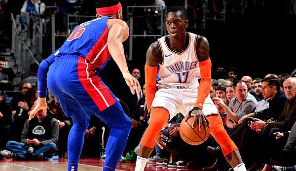 NBA: Blowout! Thunder decompose chanceless pistons