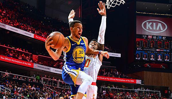 NBA: Warriors shoot down ATL - losing Rockets