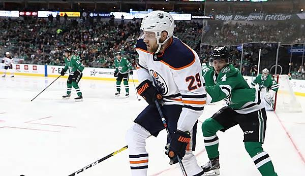 NHL: Draisaitl-Assist - but Oilers winning streak broken