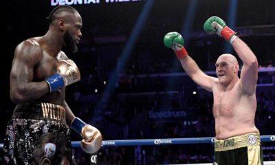 Boxing: Big gesture: Fury donates huge sum