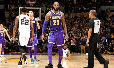 NBA: 42! LeBron hoists Lakers to the next victory - PG-13 and Curry brand hot
