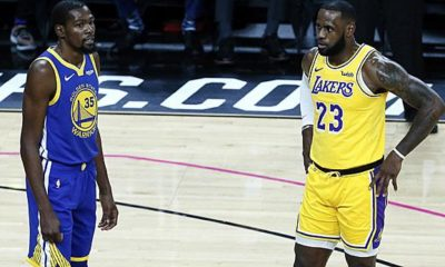 """NBA: Durant etches against media because of LeBron: """"Too many fanboys"""""""