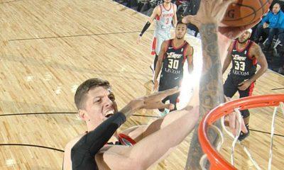 NBA: Hartenstein narrowly misses triple double