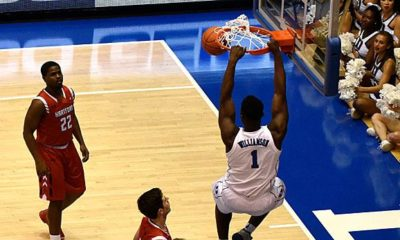 NCAA: NCAA: Zion Williamson with new Dunk-Show