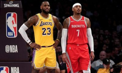 NBA: Media: LeBron Wants to See Melo at the Lakers
