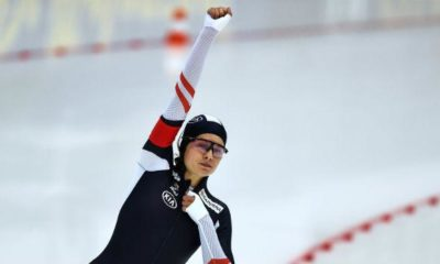 Speed skating: Herzog with victory to overall World Cup lead