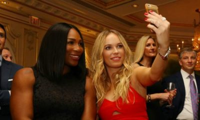 WTA: Serena Williams and Caro Wozniacki train together