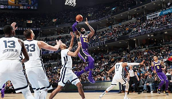 NBA: Blowout! Lakers don't give Grizzlies a chance - Bonga meets for the first time